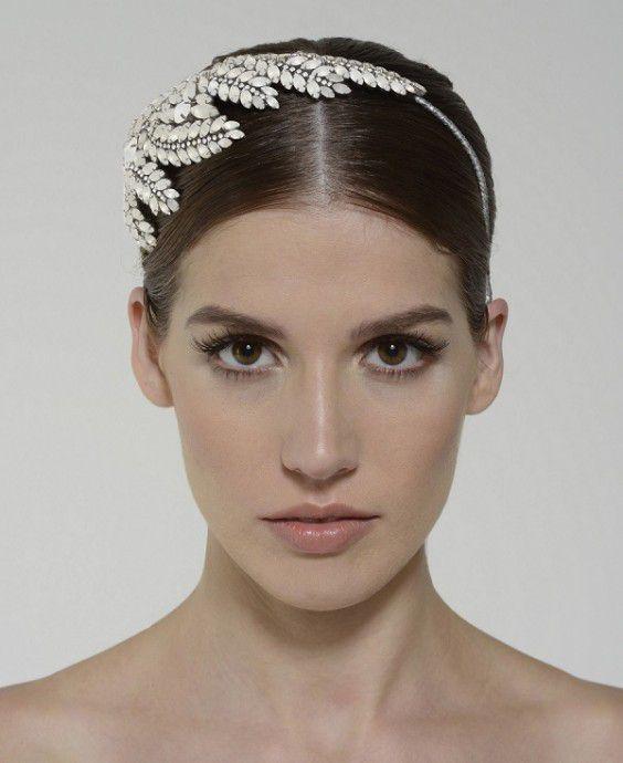 22 coiffures pour mariées aux cheveux courts