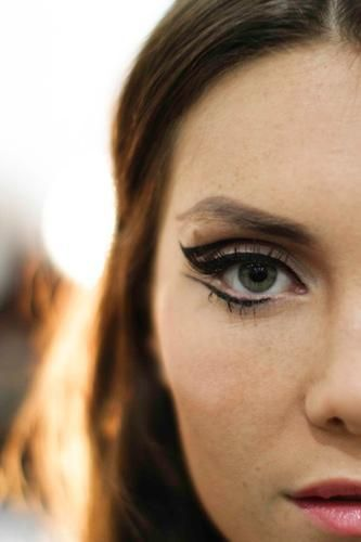 Maquillages au liner