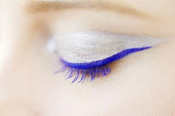Maquillages en bleu