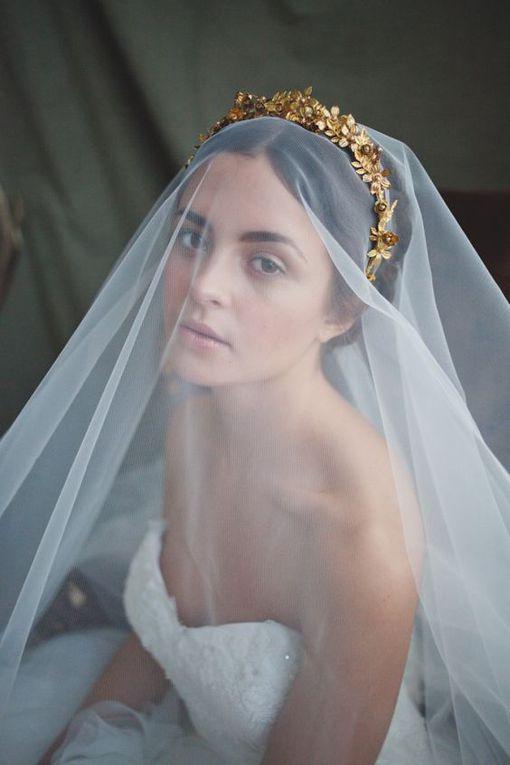 25 couronnes pour votre coiffure de mariage