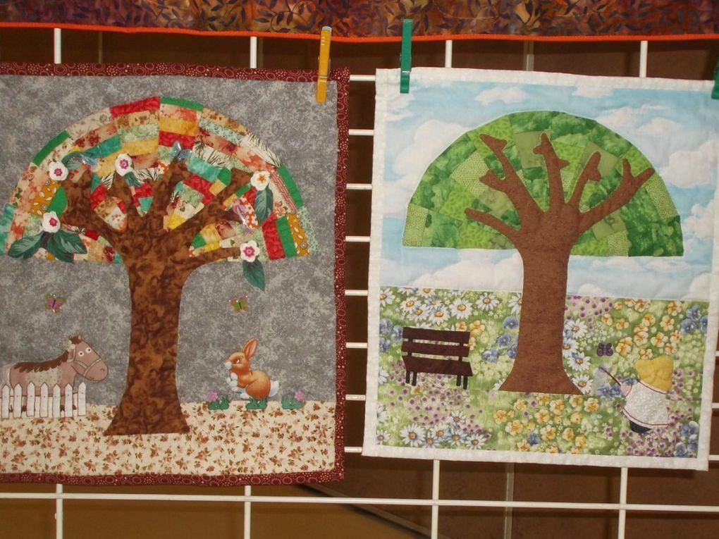 Thème de l'arbre des 4 saisons