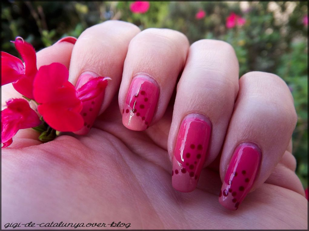 Nailstorming : Octobre rose