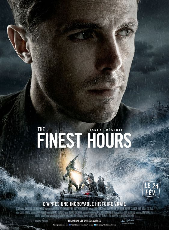 &quot&#x3B;THE FINEST HOURS&quot&#x3B;, AFFICHES PERSONNAGES