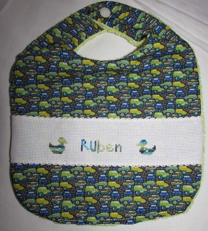 Pour Tibo, le 3ème petit-fils d'une collègue, pour Pauline, la fille d'une cousine et pour Ruben, le fils, 3ème enfant de nos voisins