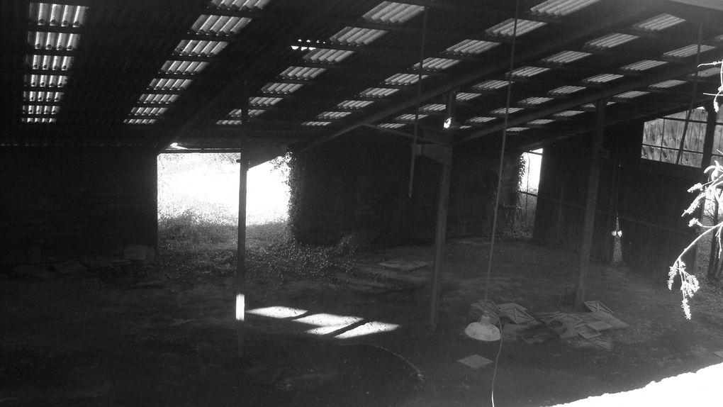Friches industrielles à Sauveterre-la-Lémance