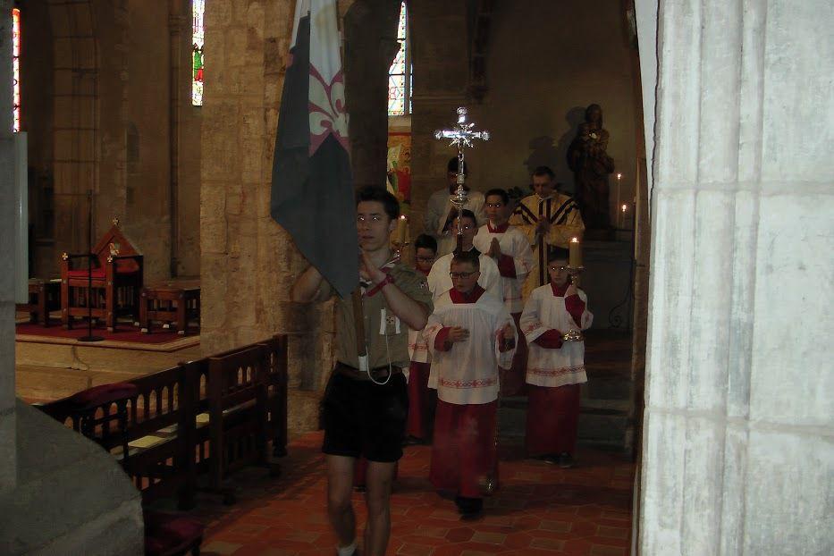 Première communion le 3 avril 2016