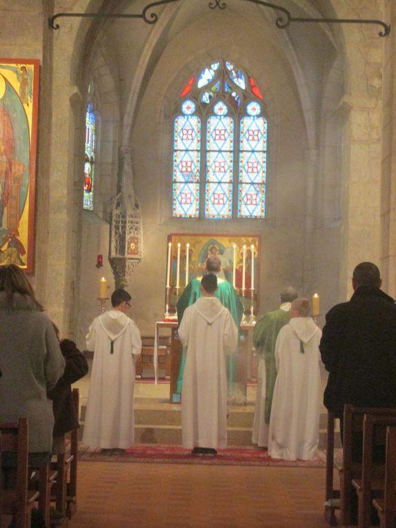 Une messe habituelle à Villars