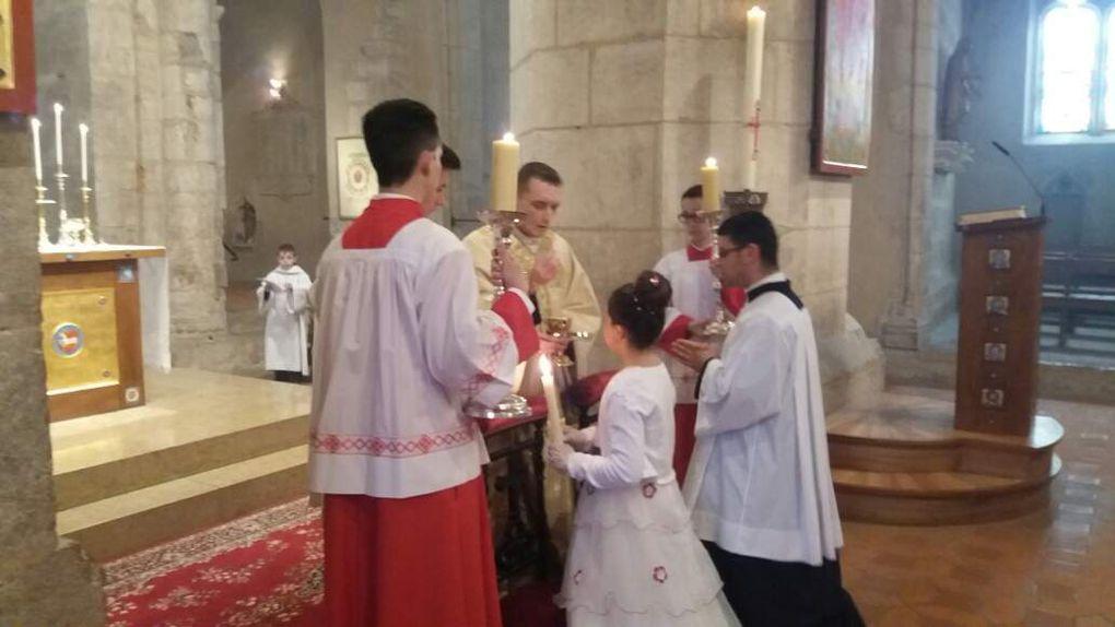 Première communion de Bénédicte MEIRELES