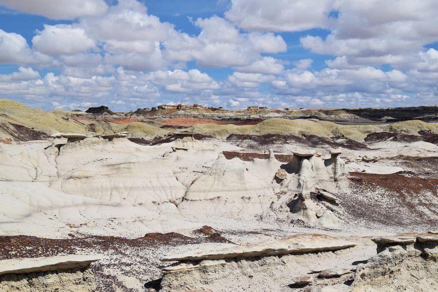Bisti Badlands - Nouveau Mexique