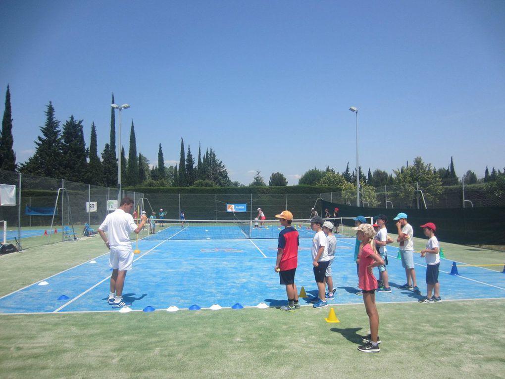 Ecole de tennis : Fête de fin d'année