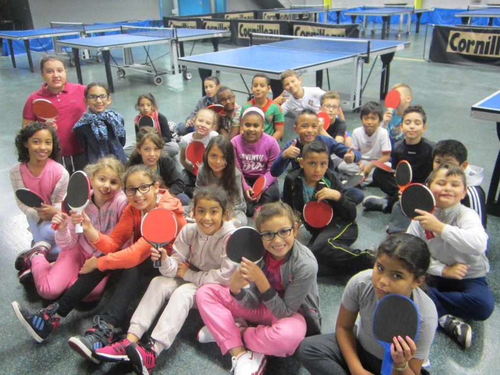 Le tennis de table (CM1)