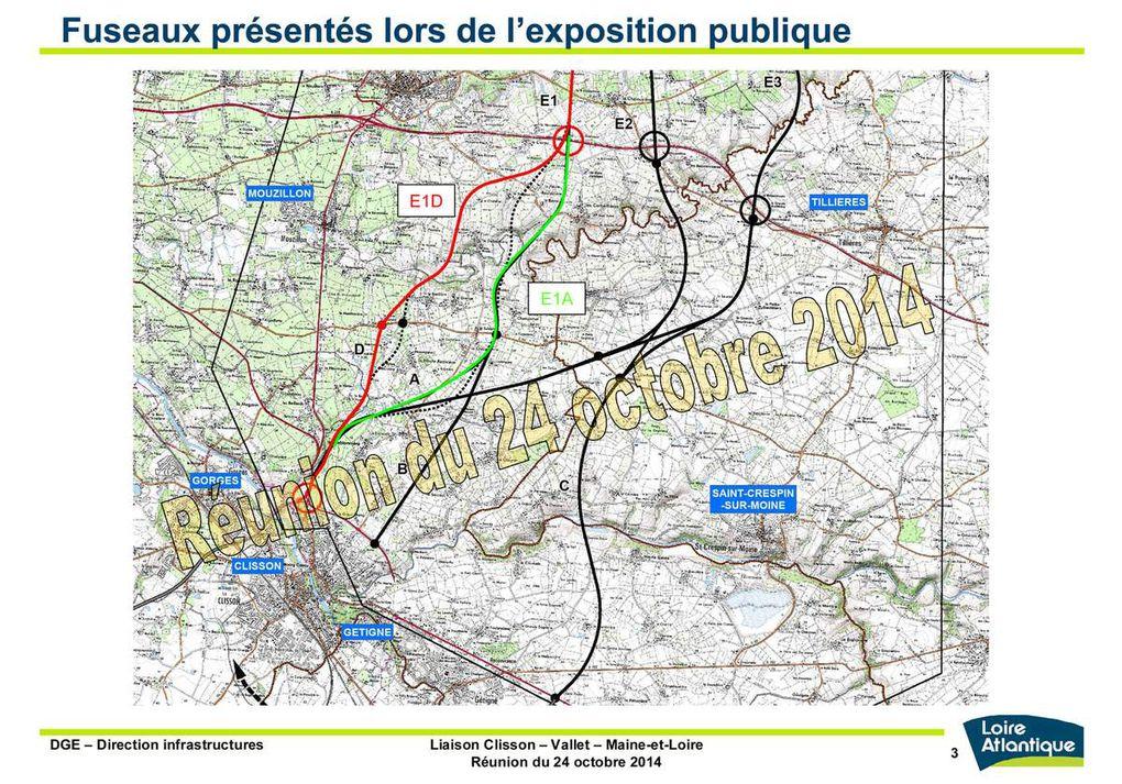 22/12/2014 - Diaporama du Projet Routier dans le vignoble
