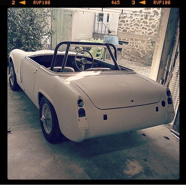 MG Midget 1275 de 1971