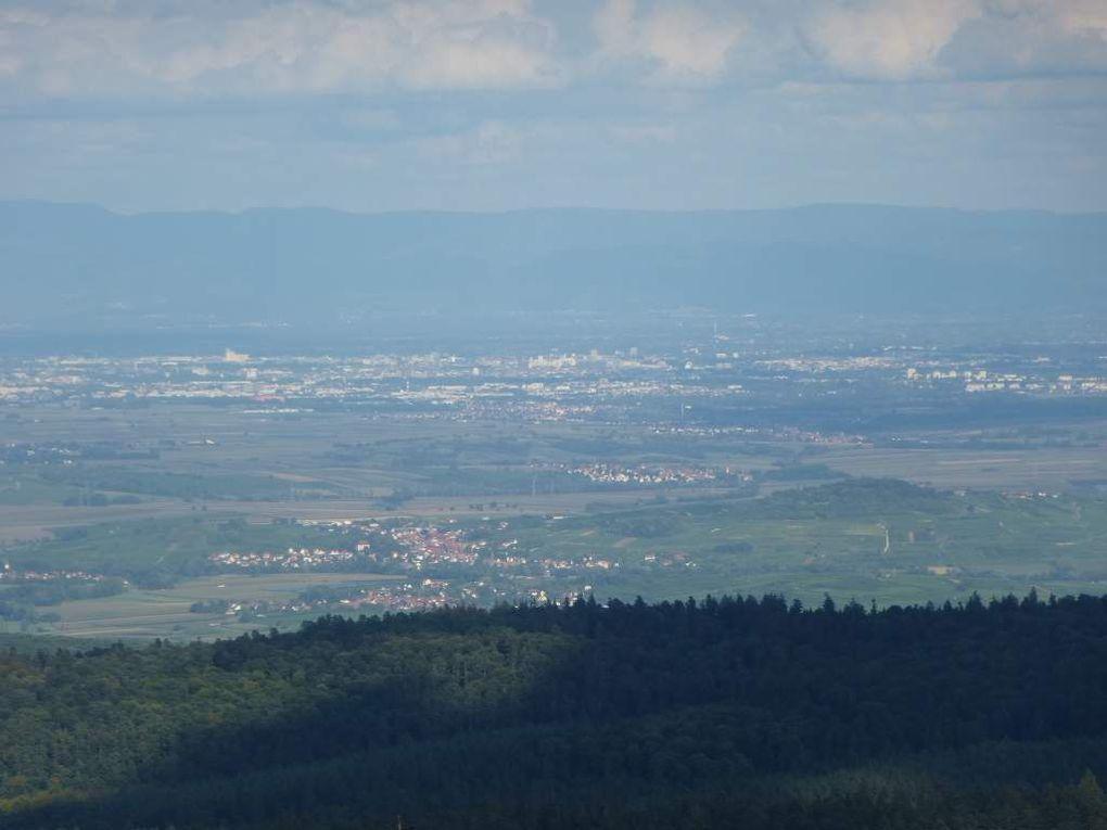 Diaporama : le refuge du Schneeberg et son point de vue (août 2014).