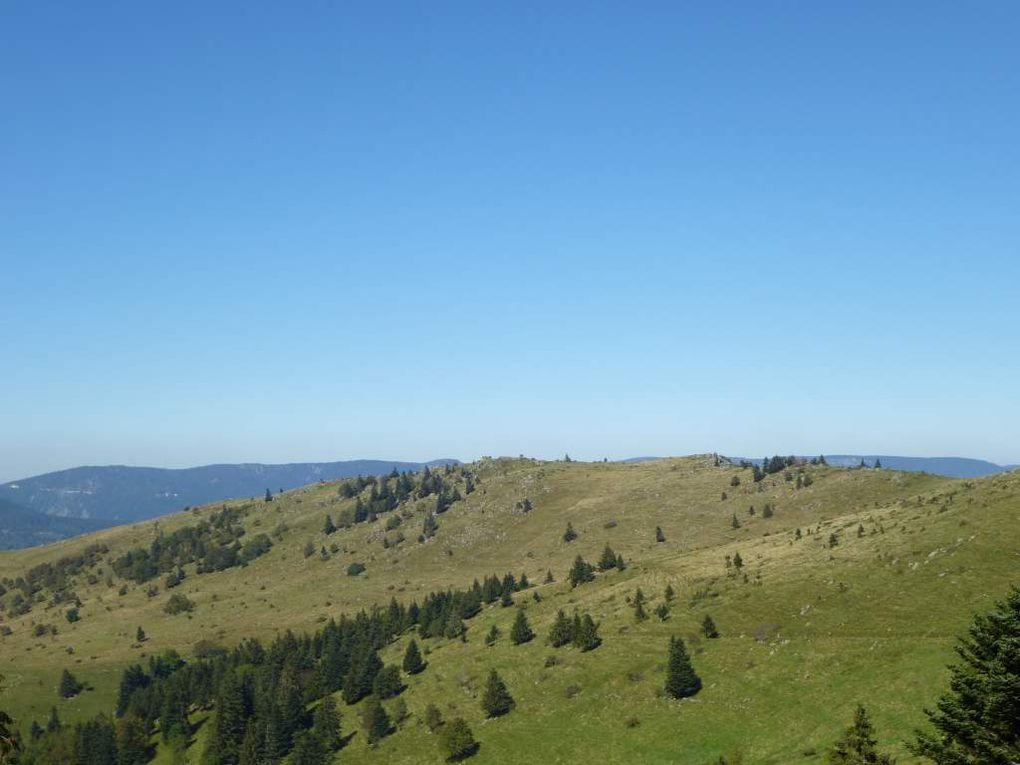 Diaporama : panorama sur la ligne de crête principale des Hautes-Vosges ...