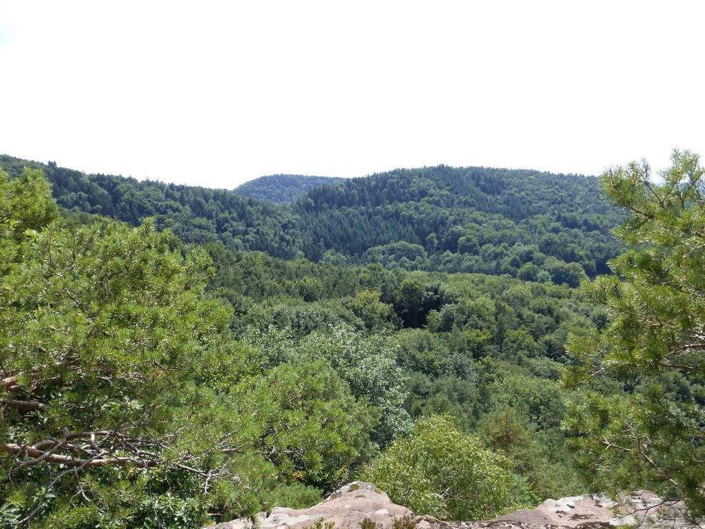 Le panorama sommital du Sternfels ... en mode diaporama !