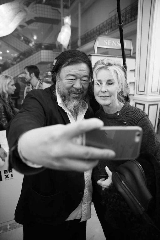 Selfies et dédicaces