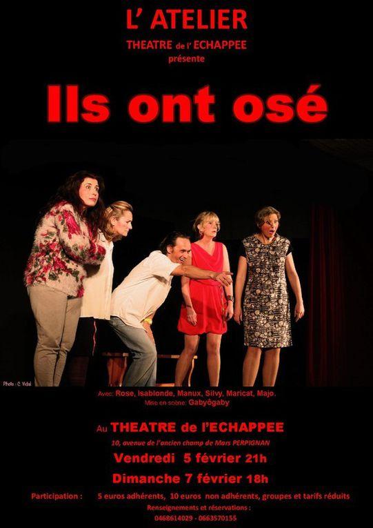 Tags (Saleilles) - Théâtre de L'Echappée (5 et 7 février, 21h) - Lumière (Guy Jacquet)