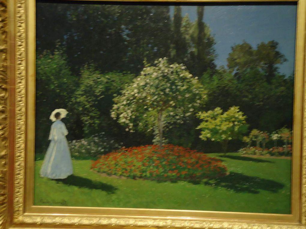 """Dame dans la jardin"" 1867 (Ermitage)"