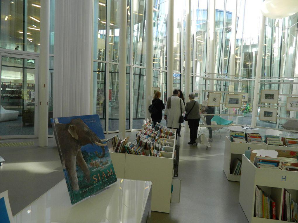 """Visite guidée de l'exposition """"Les géographies de François Place"""" samedi 22 octobre 2016"""