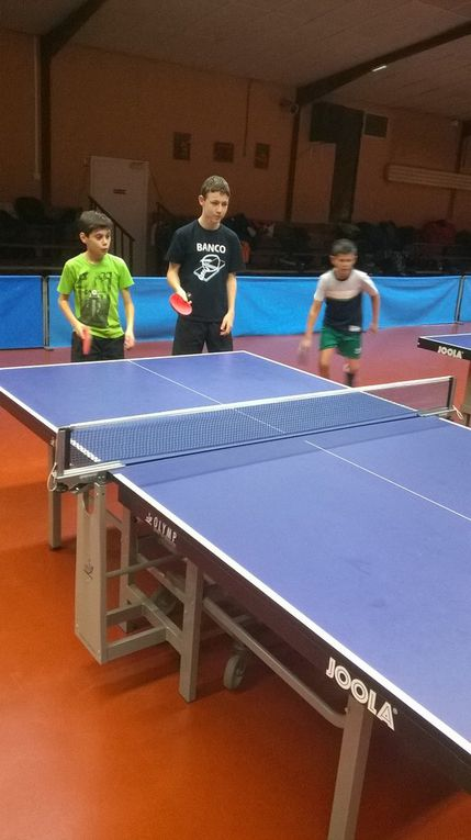Association sportive: tennis de table