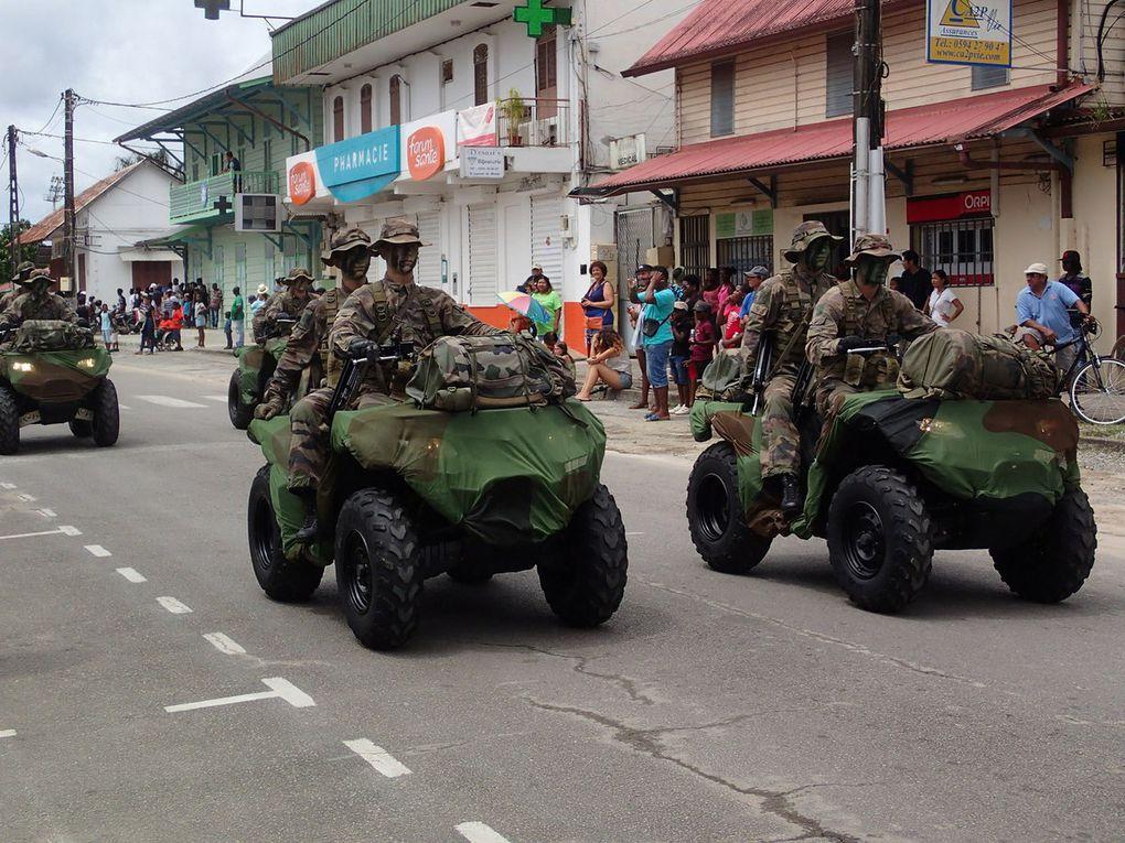 Un nouveau drapeau pour le RSMA de la Guyane au 14 juillet