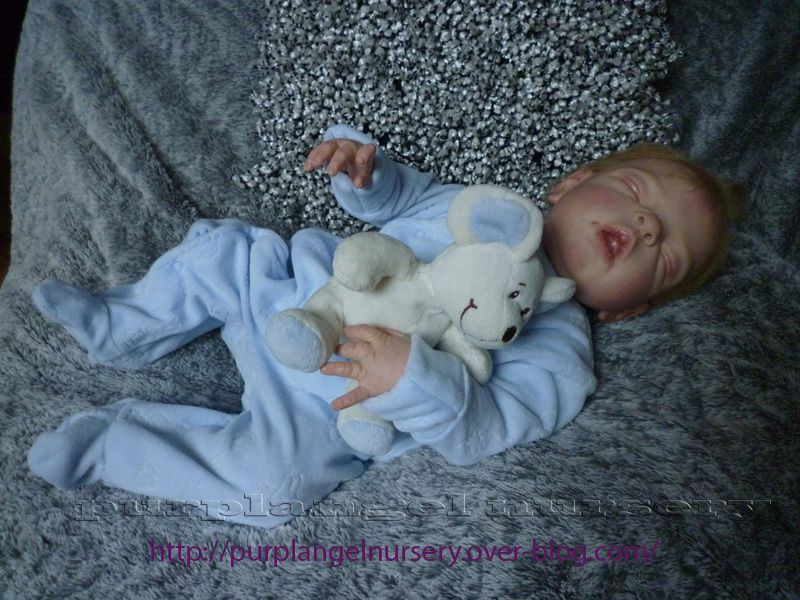 Alexandre bébé reborn purplangel nursery