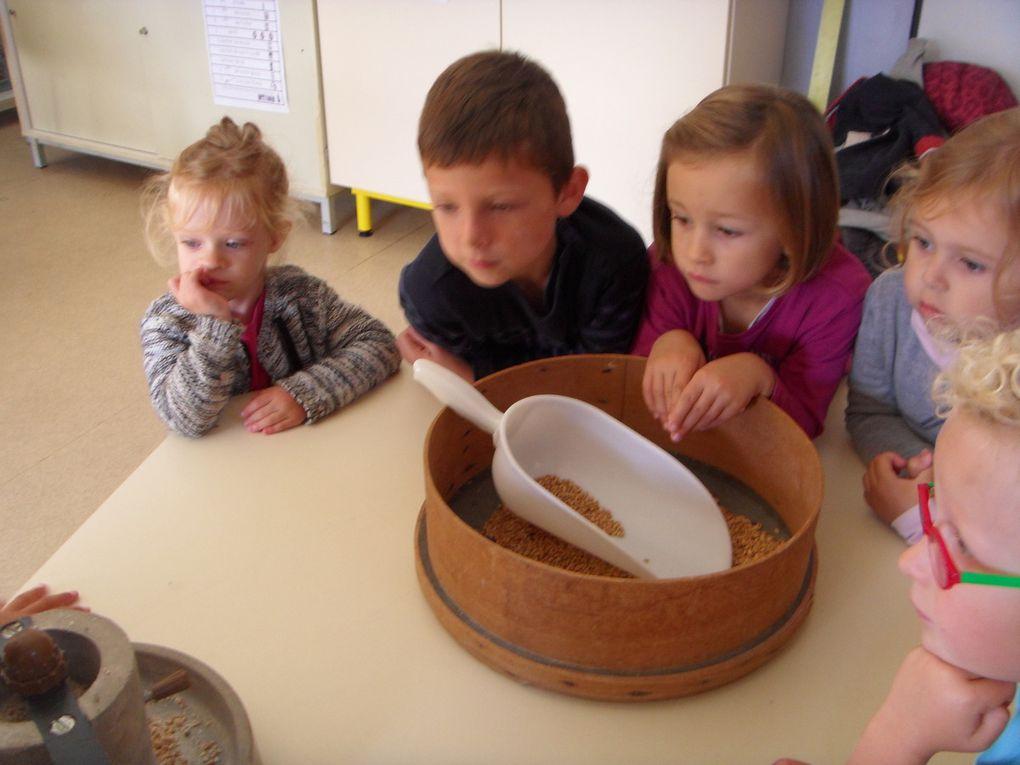 Fabrication de pain avec les Turlupains