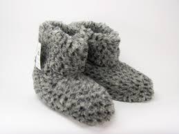 Différentes matières de chaussons