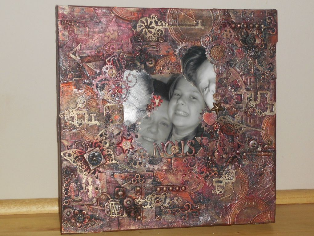 canvas mixed media nous
