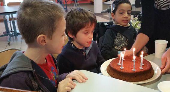 L'anniversaire de Gaspard.