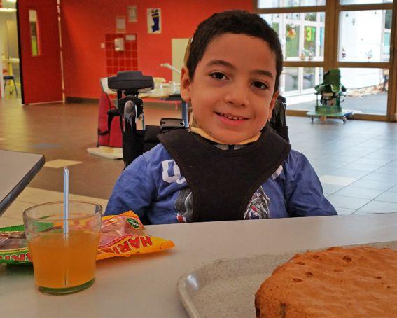 Anniversaire 7 ans d'Ihab classe de CE1 a Ecole Toulouse Lautrec de vaucresson