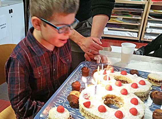 L'anniversaire de Mathis.