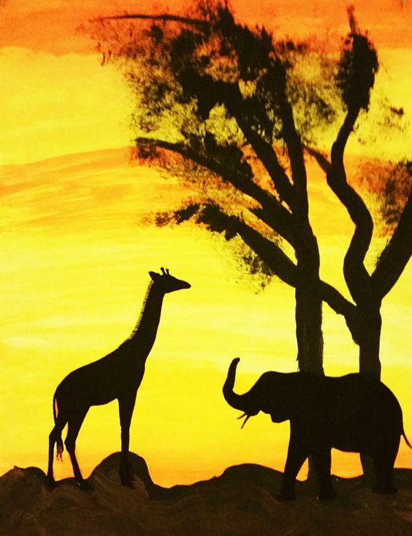 Couchers de soleil sur le veld...