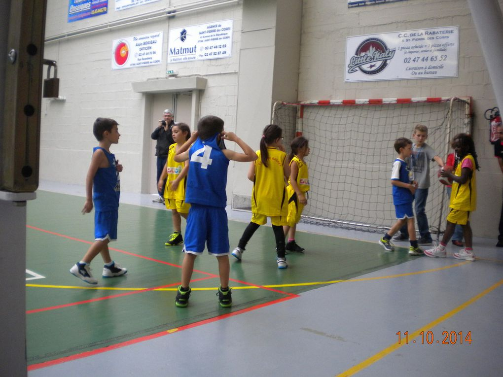 Premier match des mini-poussins