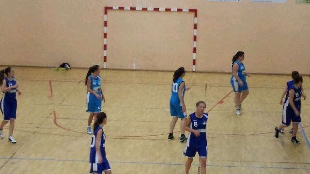 2014-11-15 Match Cadettes contre Bourgueil