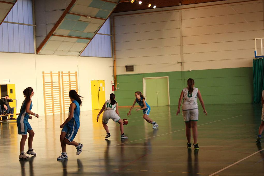 2014-12-06 Match cadette contre entente La Membrolle Notre dame d'oé