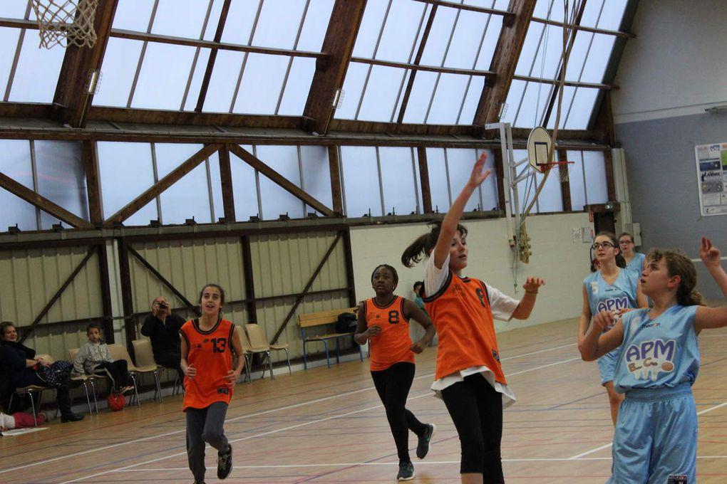 2014-12-13 Match des Benjamines contre La Ville Aux Dames