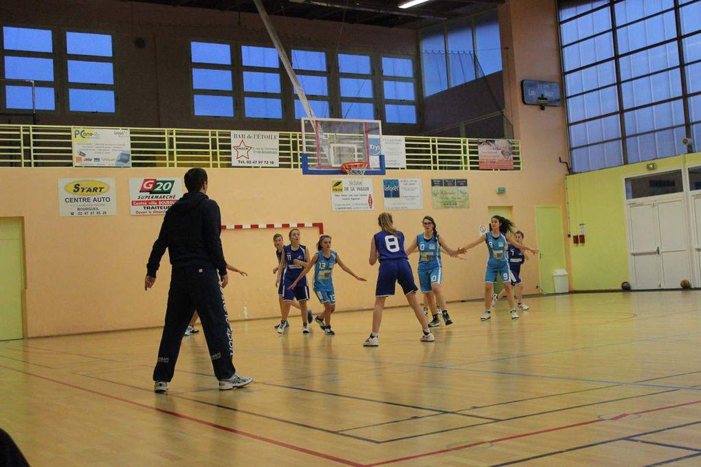 2015-01-17 match des cadettes à Bourgueil