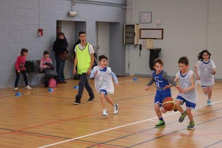 2015-01-24 Plateau Mini-Poussins équipe 1 contre 2 à Parçay
