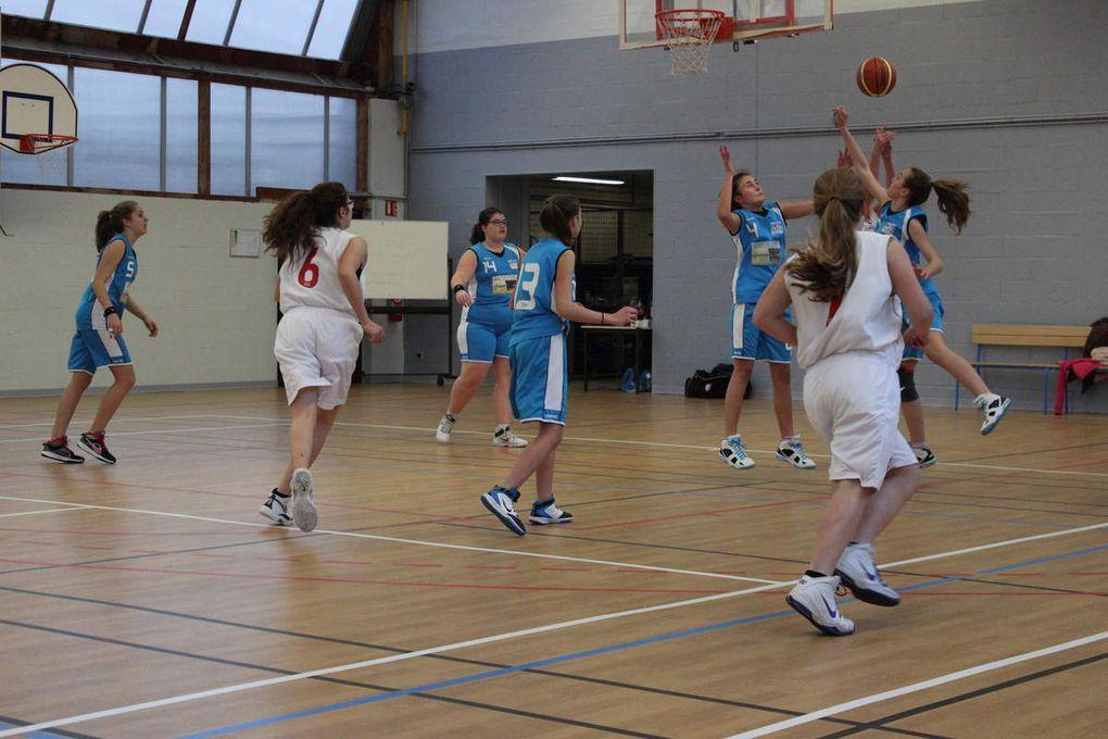 2015-02-14 Match cadettes contre Loches