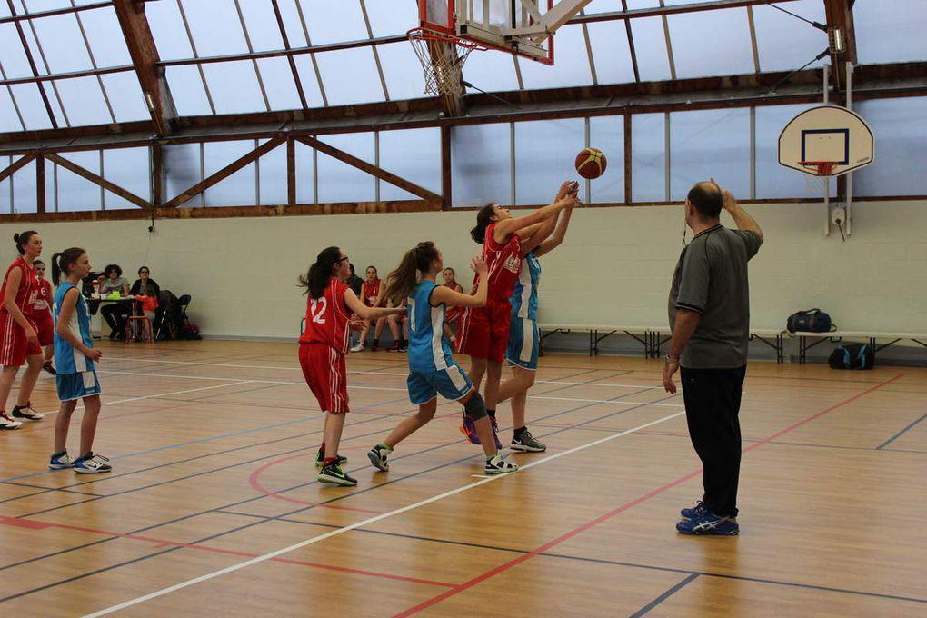 2015-03-14 Match des Cadettes contre Draché