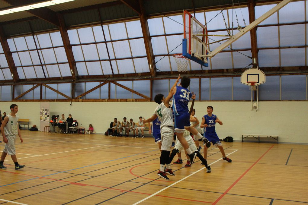 2016-01-30 Match Cadets contre La Riche