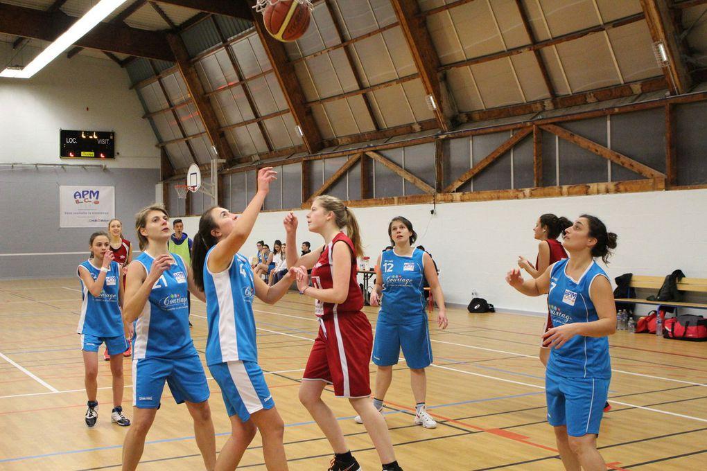 14/01/ seniors filles vs Notre Dame d'Oé