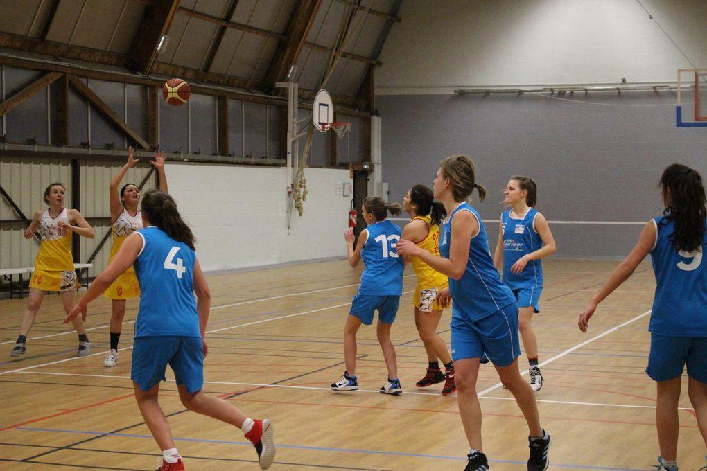 28/01/ seniors filles vs Saint Pierre des Corps