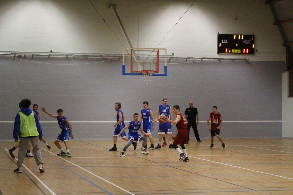 28/01/ seniors garçons vs Notre Dame D'oé