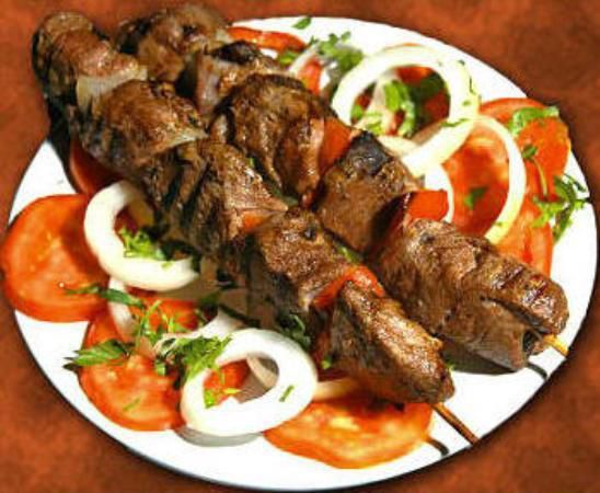 Tasty Mutton Kebab