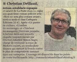 CHRISTIAN DRILLAUD : UN ECRIVAIN