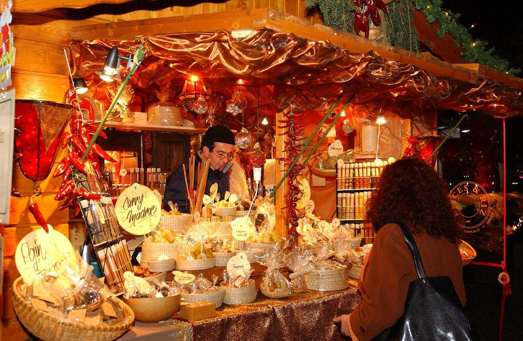 Le marché de noël à Lyon