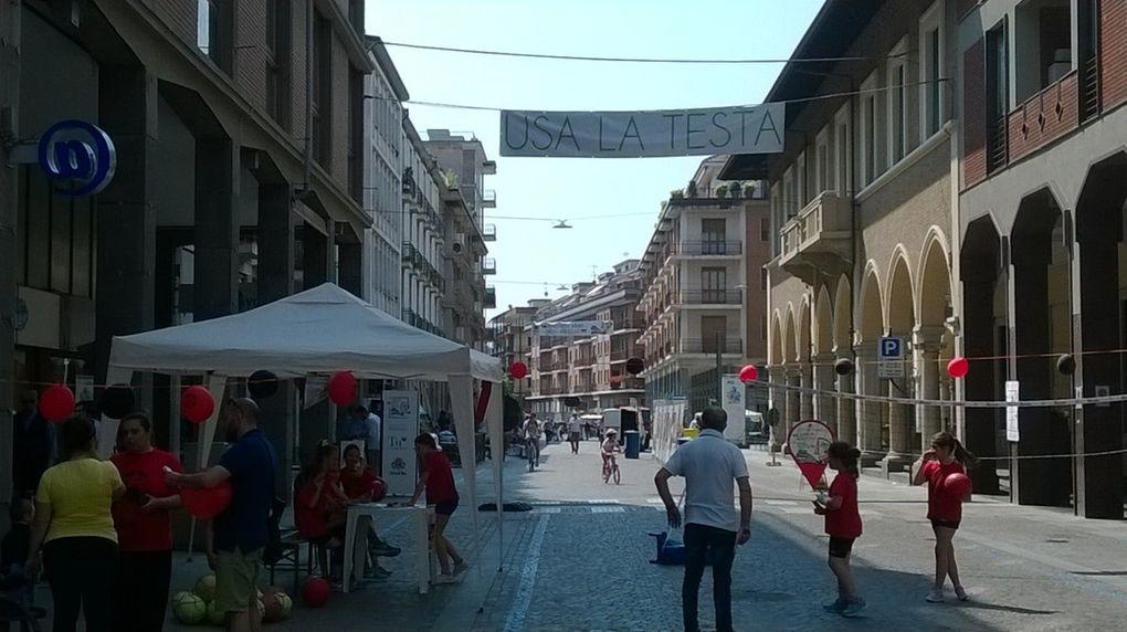 Bra une ville plaisante pour faire du shopping, se restaurer, siroter un apéritif ou se cultiver ! Photos par Alain GIEZ pour Quinditalie